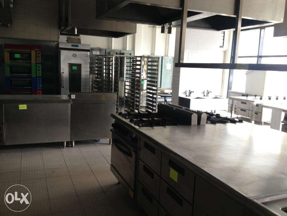 Commissary Kitchen With Branded Equipment