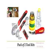 Pack of 2 Snap and Grip & Jackly 31 in 1 Tool Kit