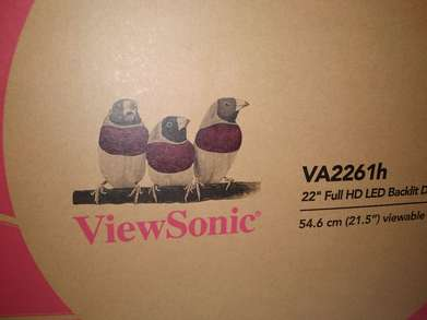 Monitor LED ViewSonic VA2261h Size 22inch