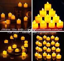 LED Tea Light Candle Buy 2 Get 1 Free COD N Free Shipping All Pakistan
