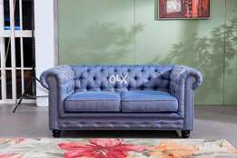 Chesterfield round arm SOFA.