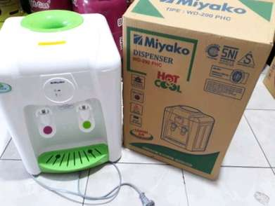 Delivery dispenser miyako hot and cool wd290phc dispenser panas dingin