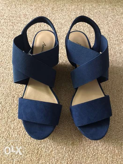 95493f69e1 Ryan High Wedge Navy from Payless Brand New in Parañaque, Metro ...