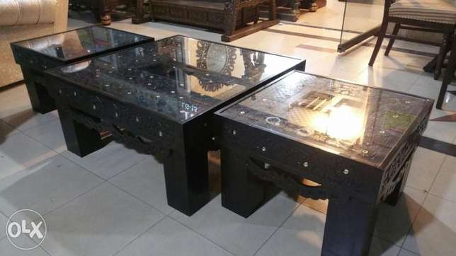 Three pieces center table set new
