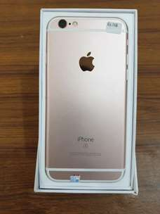 Iphone 6s 128 gb Warna Rose Gold Like New Full Set Original