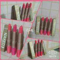 Naked-3 Urban-Decay 2in1 Lipstick and Lip Gloss