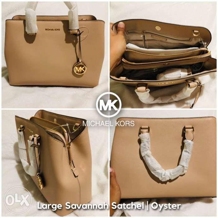 e83fac61e6009a Michael Kors Savannah Large Satchel Bag in Mabalacat, Pampanga | OLX.ph