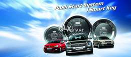 Touch Start Car - Push Start Stop AC + Engine Button RFID Tags