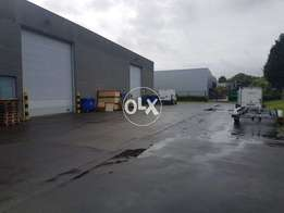 Mainservice road 5000 SQ FT big size3 hall with office +warehouse i-9