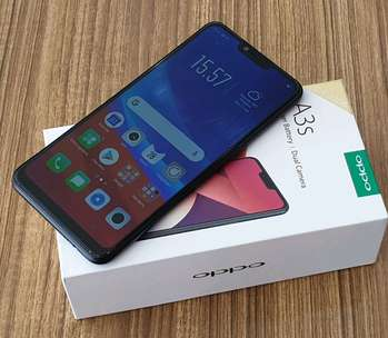 oppo a3s 3/32 second demolive