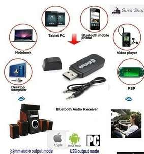 bluetooth receiver, bikin speaker kabel/mobil/ht jd bs bluetooth