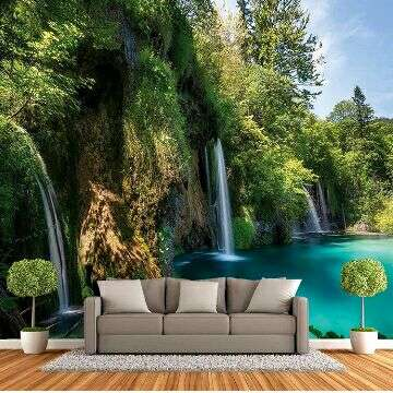 500 Wallpaper 3d Waterfall