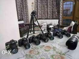 Canon Dslr Camera 700d 70d Rent All Models Chandigarh