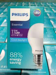 lampu led philips 11w setara95