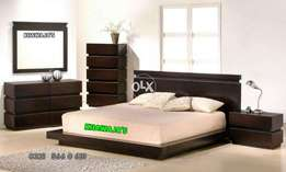 Graceful Design Bed with dressing