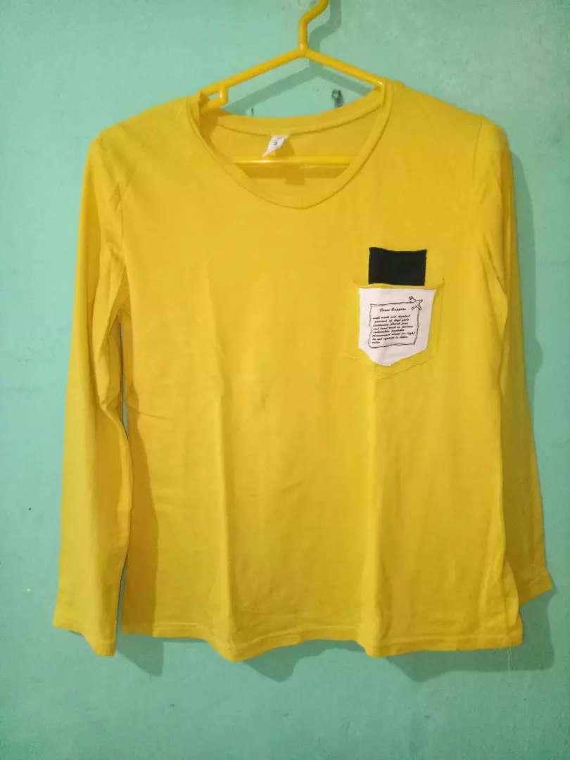 Atasan Wanita Dewasa Warna Mustard Fashion Wanita 791242640