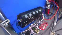 audio pipe 4 chanel brand new ampliifire Oirignal 2400 watt