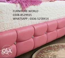 (FURNITURE WORLD)Brand new single bed pair in factory rate