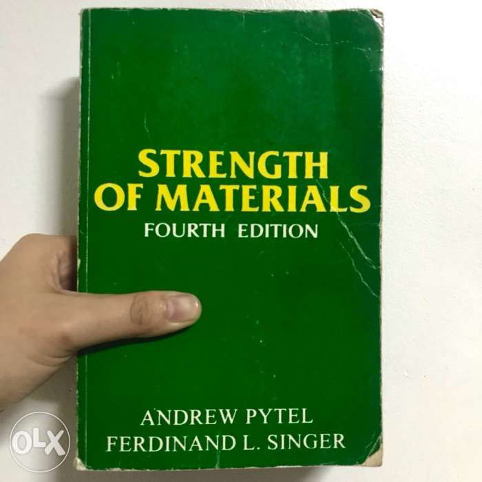 Strength Of Materials Book By Singer