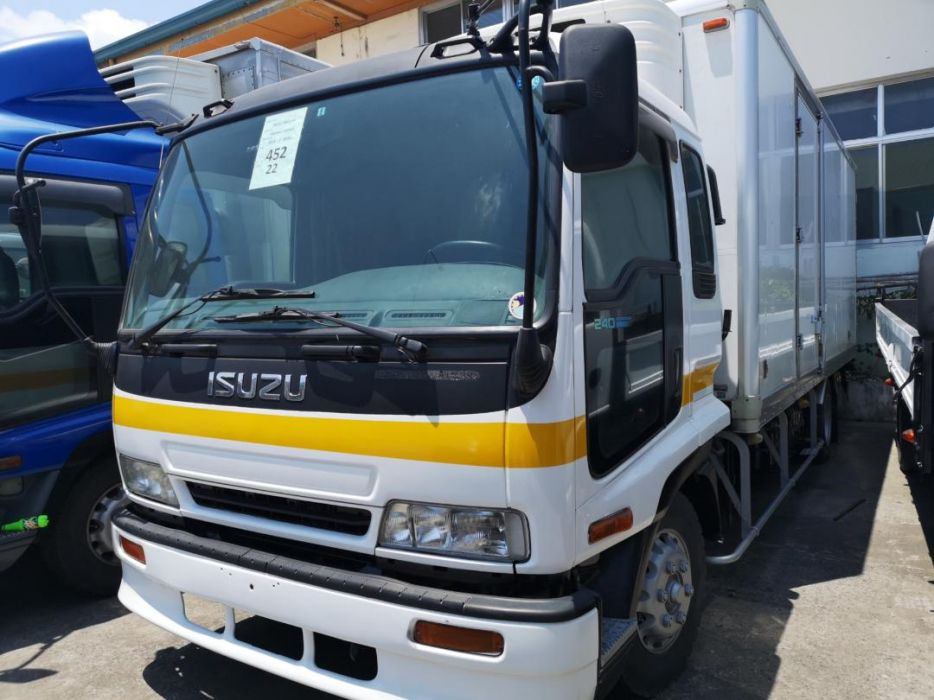 c06cdab57d Refrigerator freezer cooler van isuzu forward 6hh1 6w japan surplus ...