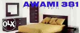 Fine quality bed with sider table by AWAMI