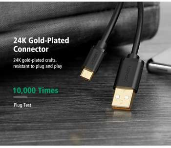 Ugreen Micro USB 2.0 Cable 0,5M Sync & Charge premium class