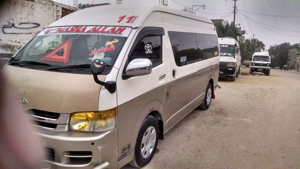 Toyota Hiace - Buses, Vans & Trucks for sale in Pakistan