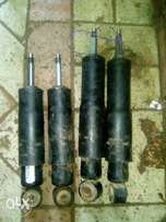Toyota land cruser frand and back shocks.