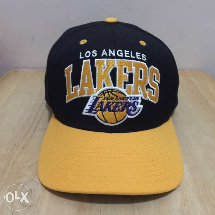 Los Angeles Lakers Mitchell and Ness Cap in Calamba City 2acc7d98503