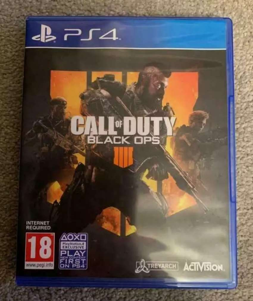 Ps4 Game Call Of Duty Black Ops 4 Almost New Games Entertainment 1012590426