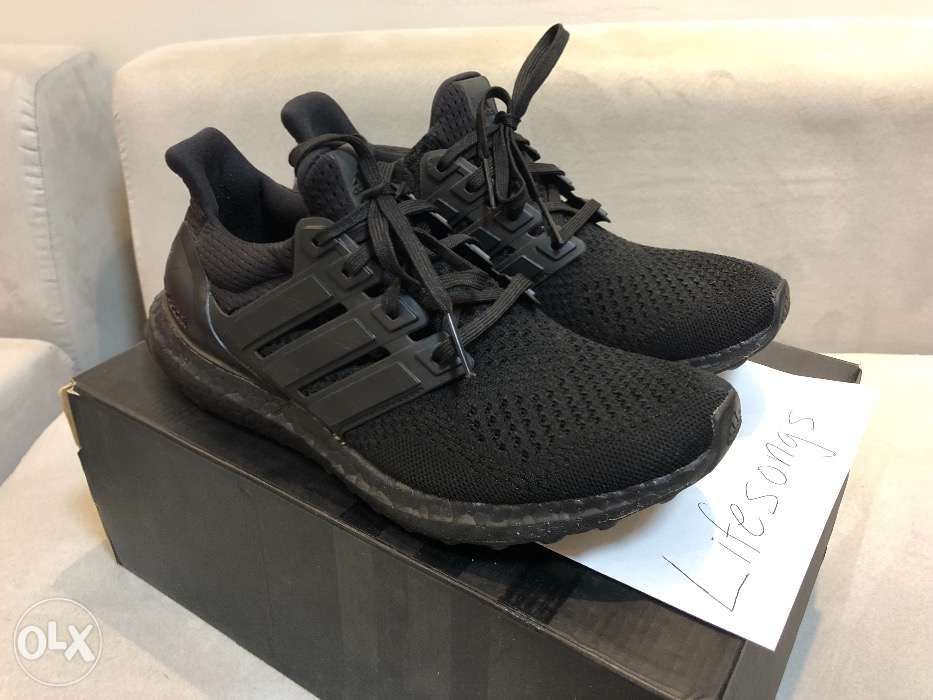 f9dba2cb99182 Adidas Ultra Boost V1 1.0 LTD Triple Black Ultraboost not 350 Nike ...