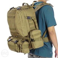 Silver Knight Outdoor Military Tactical Rucksack Hiking Bag Backpack f488d55ae4839