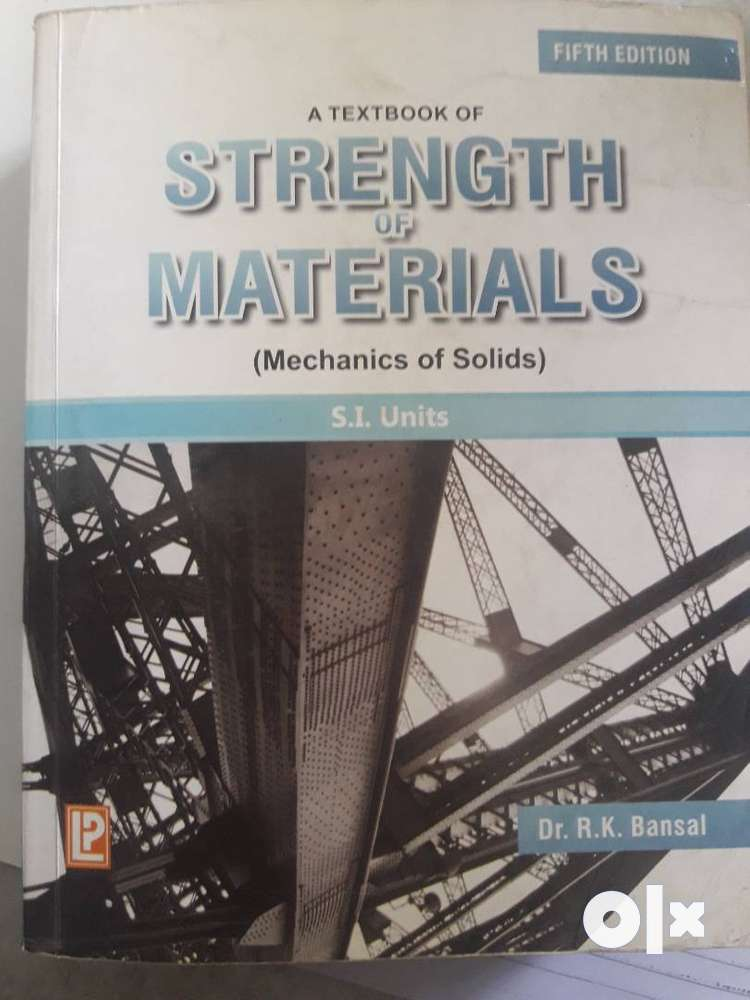Strength Of Materials Book By Ramamrutham