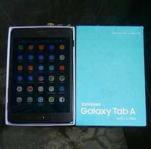 Samsung galaxi Tab A with s pen p355