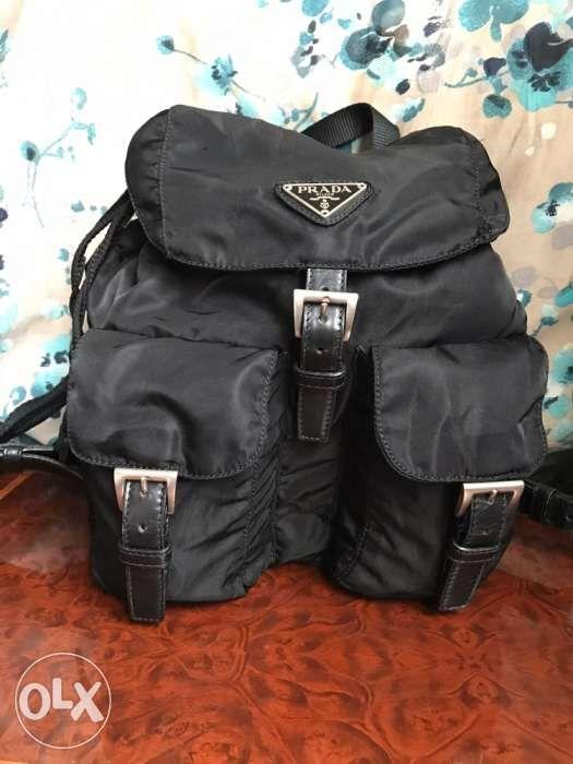 0727cf333e1 Original Prada bag back pack or knapsack for sale. LV Burberry Gucci ...