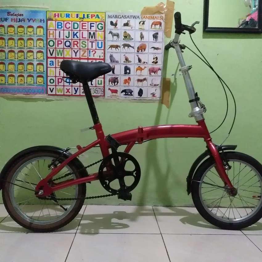 Sepeda Lipat Ring 16 Sepeda Aksesoris 810153851