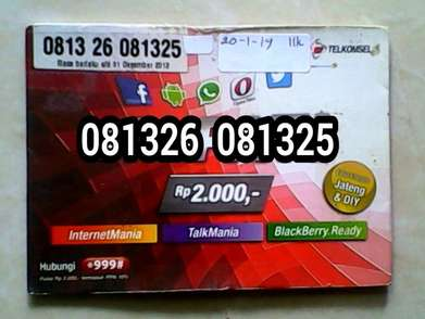 Telkomsel taon 2012 special nomor cantik limited edition