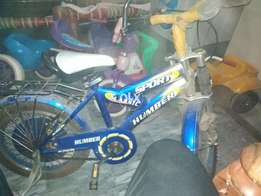 Bicycles OK 10 by 10 ha humber kie ha only 25 day use