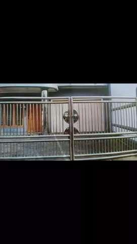 Pagar Rumah Minimalis Stenlis  pagar rumah tangga murah cari rumah tangga di tambun