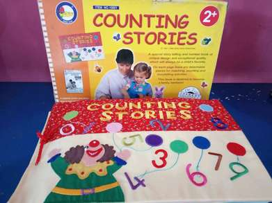Softbook counting stories