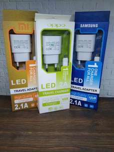 Charger Smsung,Oppo,Xiaomi Lampu 2.1A , Only 35.000
