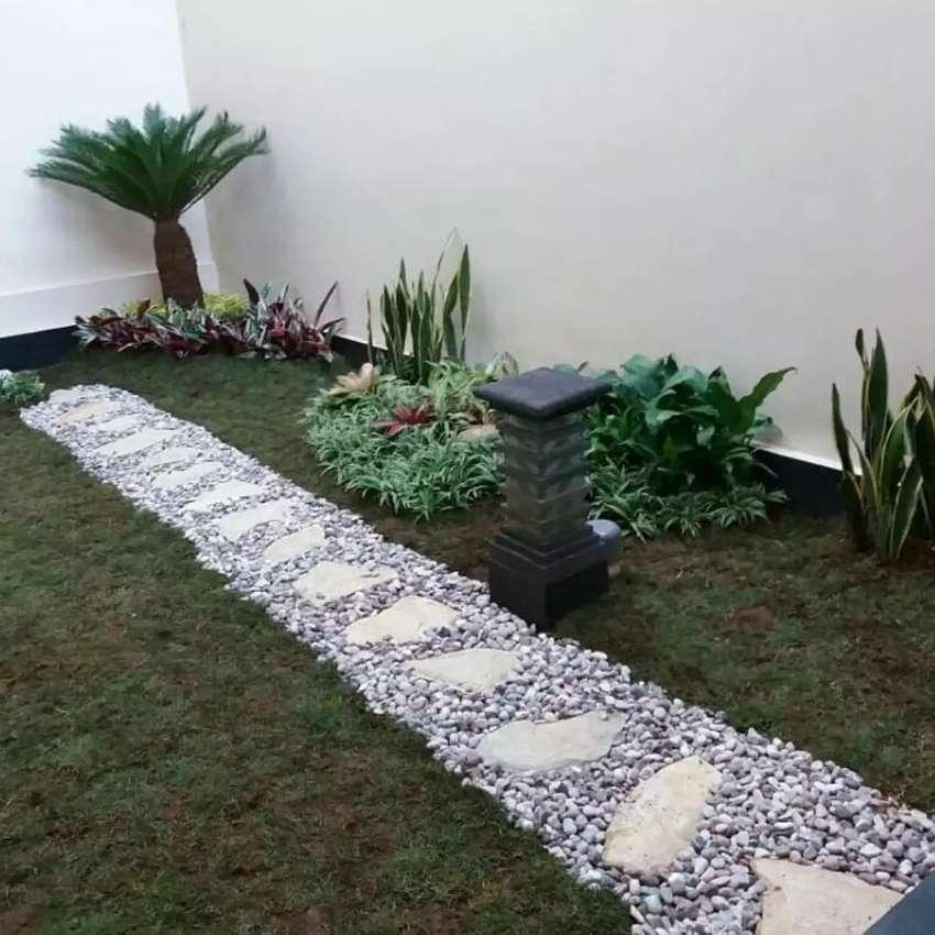Membuat Taman Sederhana