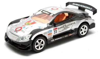 RC Mobil Remote Control Strong Mightiness Hitam Silver Anak