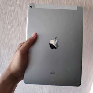 Ipad air 2 wifi cell 64gb silver full ori ex IBOX mulus normal
