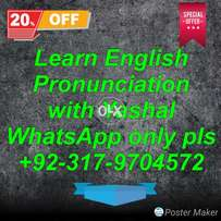 English Pronunciation & Accent Training
