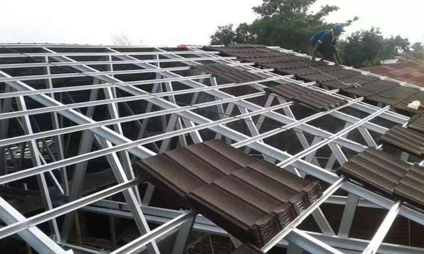 kontraktor pasang atap baja ringan surabaya escoda jaya