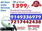Tata Sky New DTH tatasky Connection (Free Installation)- COD All india