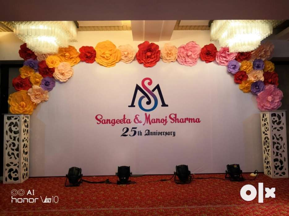 Special anniversary decoration thane furniture ambica nagar
