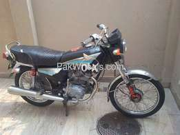honda cg 125 2001 model japan version exchnge possible only 125