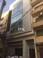 100 Yards new building for rent in DHA Jami commercial phase 7